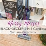 Merry ChrisMess – BLACK+DECKER Stick Vac Giveaway