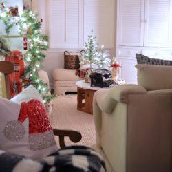 Christmas Cottage Nights Home Tour