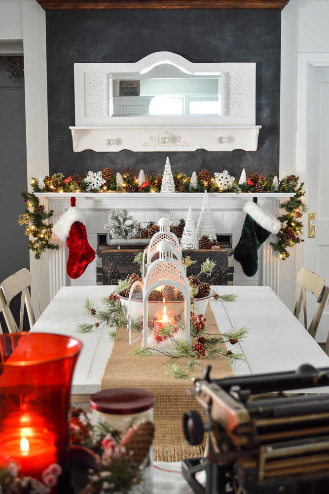 Cozy Christmas Home + Gift Ideas with Better Homes and Gardens | Fox Hollow Cottage dining room, farmhouse chairs and affordable holiday giving!