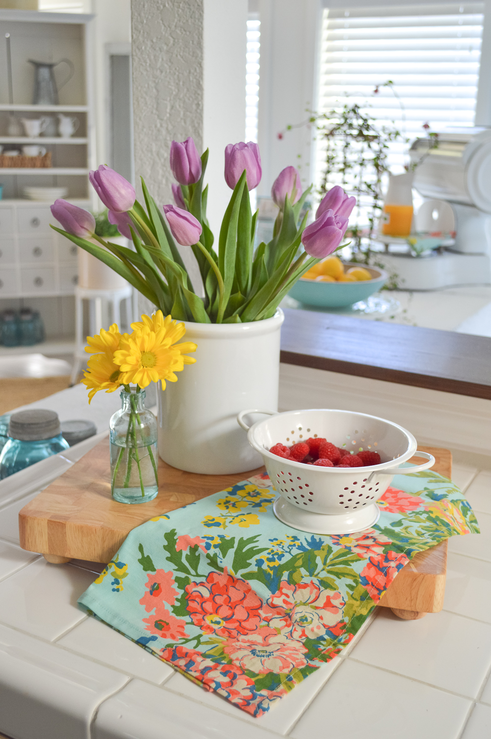 Simple Spring Cottage Farmhouse Easter Table Fox Hollow