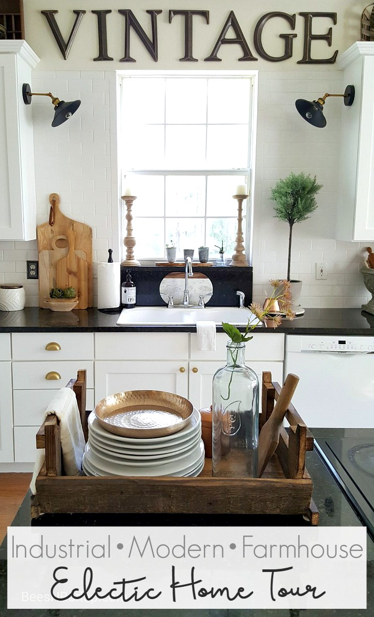Eclectic Collected Vintage Modern Home Tour