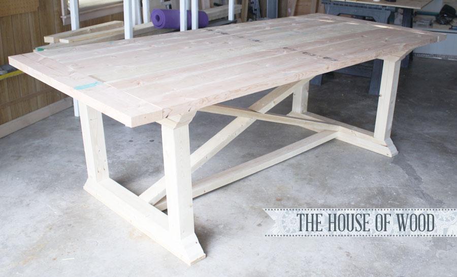 Diy Farm Table Build Plans And Makeover Ideas Fox Hollow
