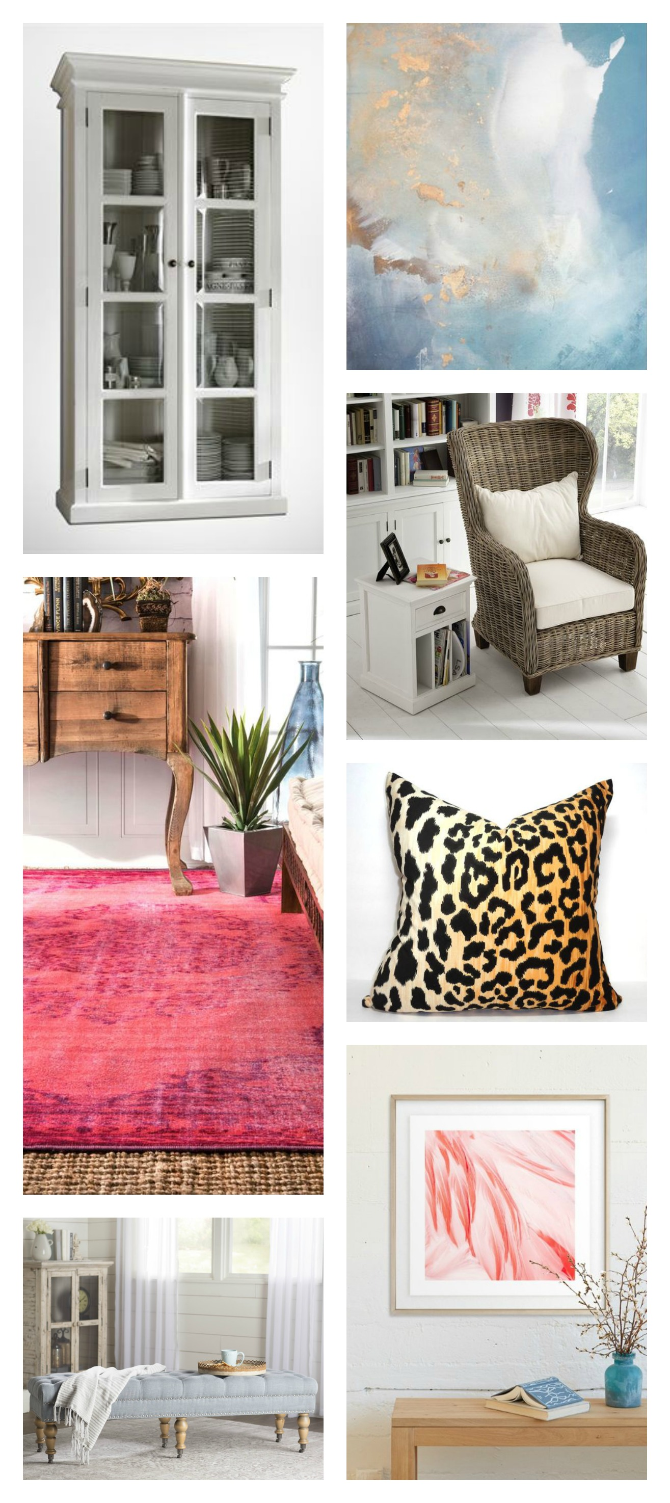 Color Lovers Decorating Event - Living Room Decor Choices and Idea Board
