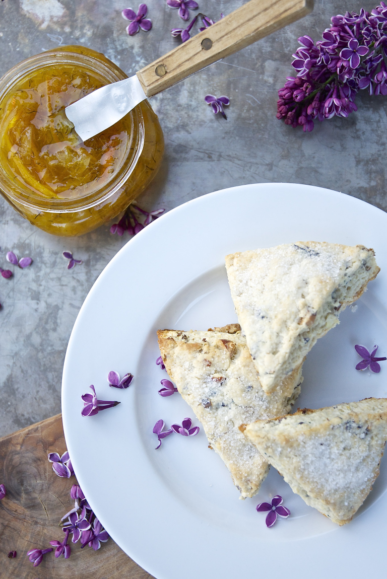 scone recipe - lilac blossom recipe - tips facts uses for lilac flowers