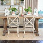 Where To Buy A Farmhouse Trestle Style Farm Table