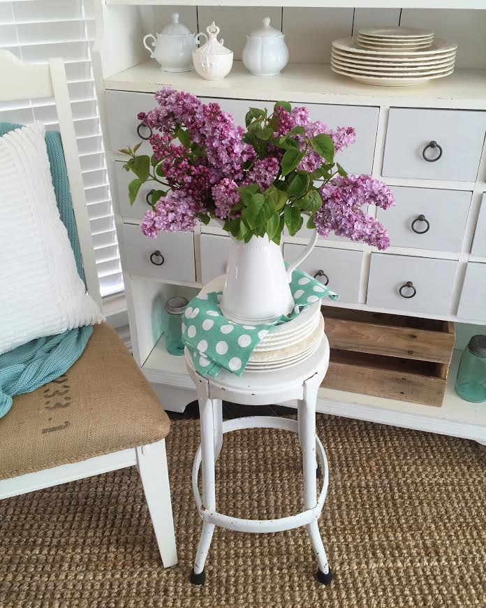 Cottage farmhouse spring - Lilac flower blossom facts tips uses