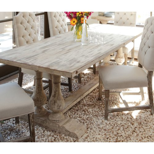 Where To Buy A Farmhouse Trestle Style Farm Table Fox Hollow Cottage - Wayfair trestle table