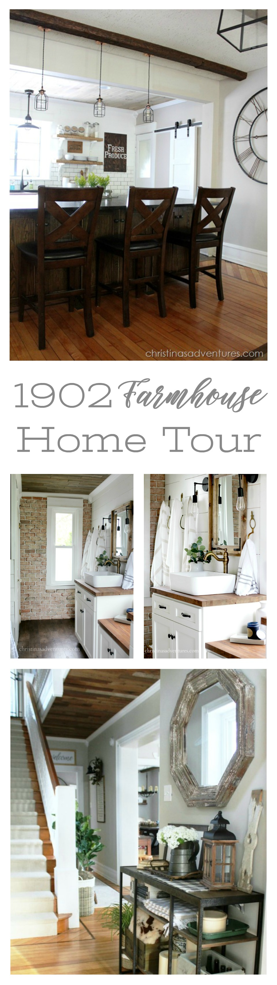 1902 Victorian Farmhouse Home Tour with Christina's Adventures