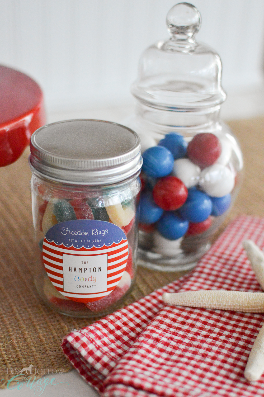 Simple 4th of July Table Decorating Ideas