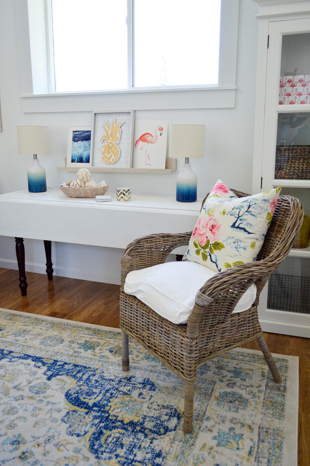 Cottage Living Room Makeover