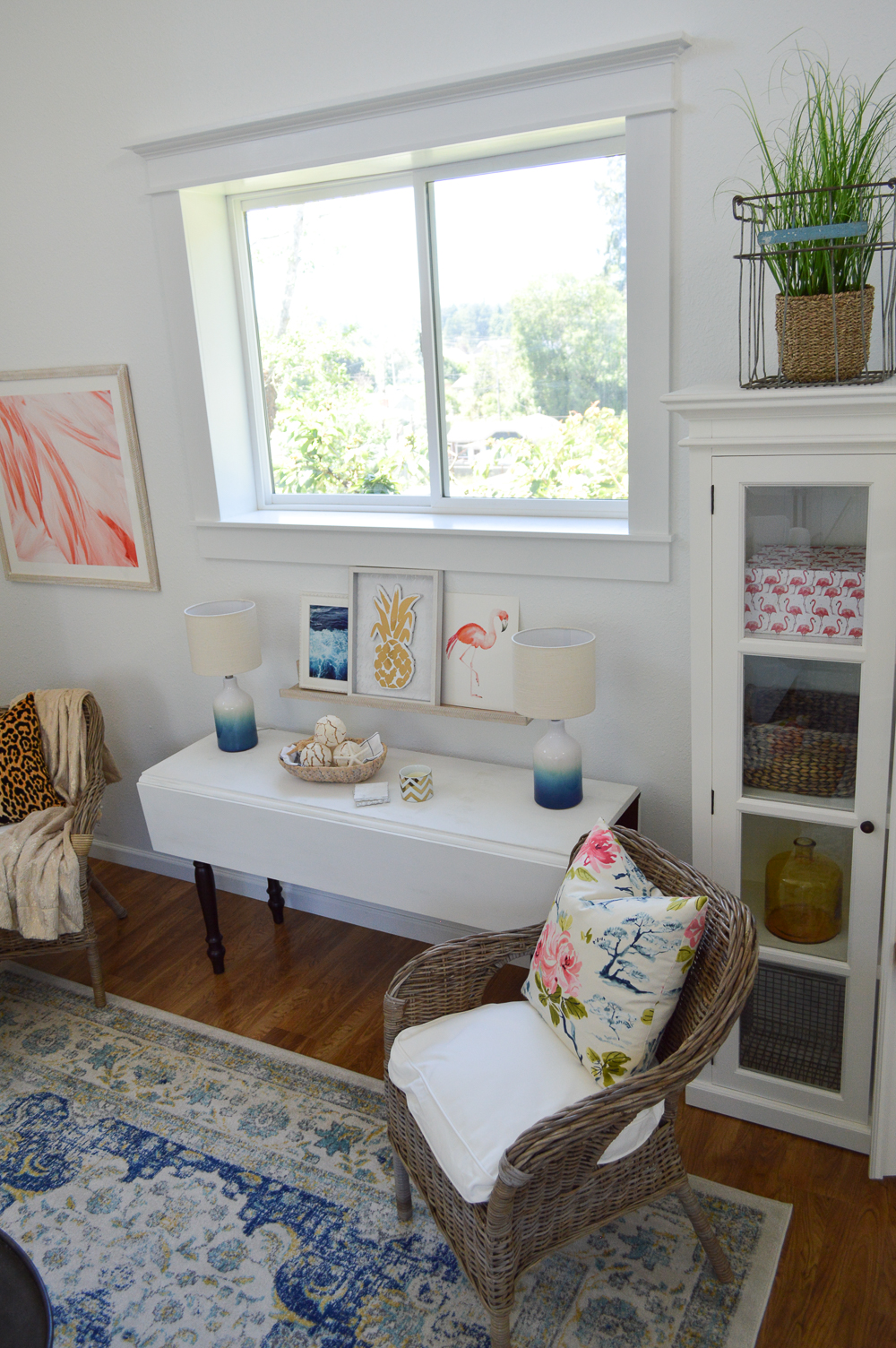 Living Room Makeover Reveal (at The Little Cottage)