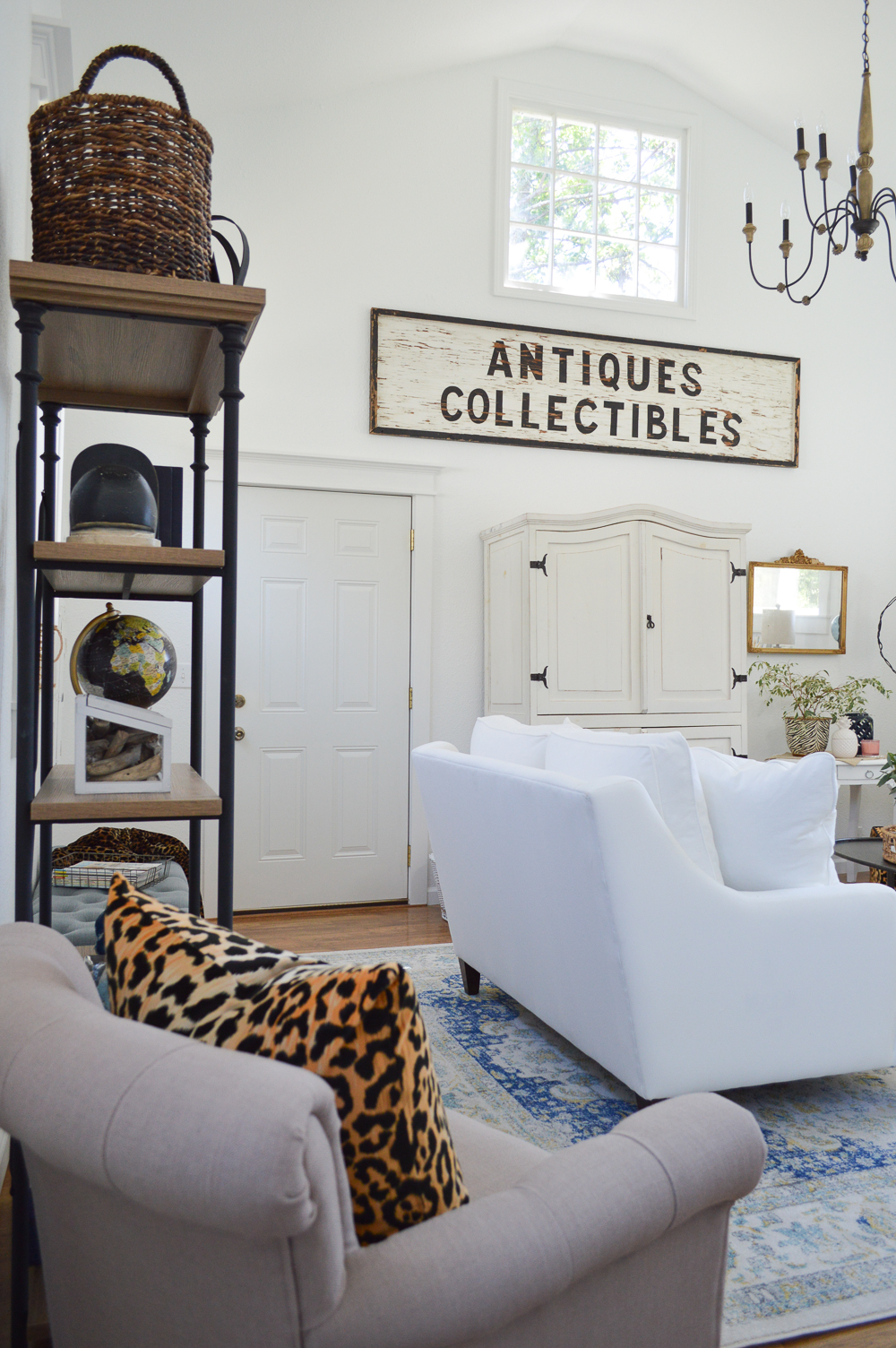 Living Room Makeover Reveal at The Little Cottage