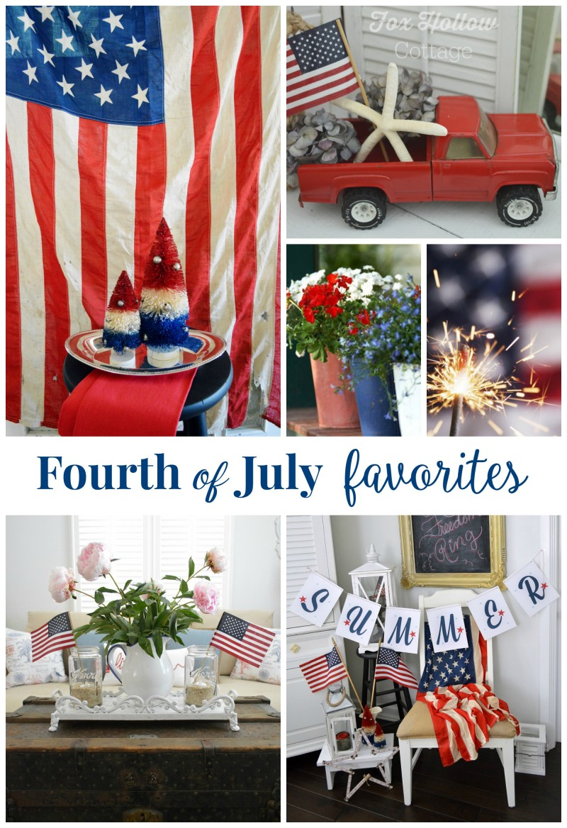 Fourth of July Favorite Ideas and Decorating