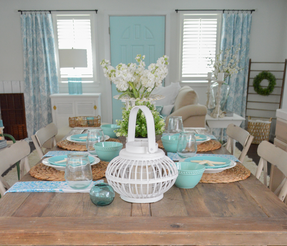 Summer farm table decorating ideas for Table design tips