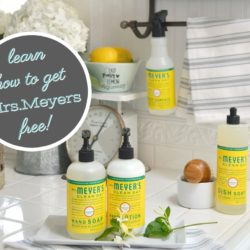 Grove Collaborative Mrs Meyers Free Summer Offer