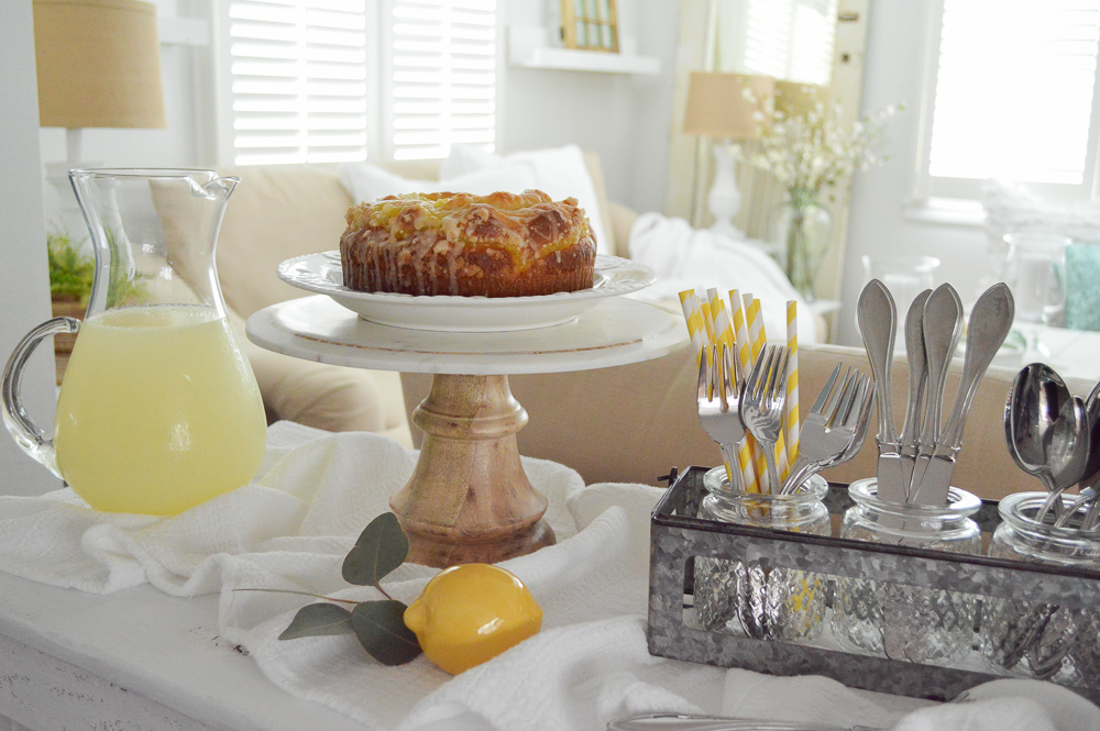 Simple summer entertaining ideas - Use your decor in new ways!