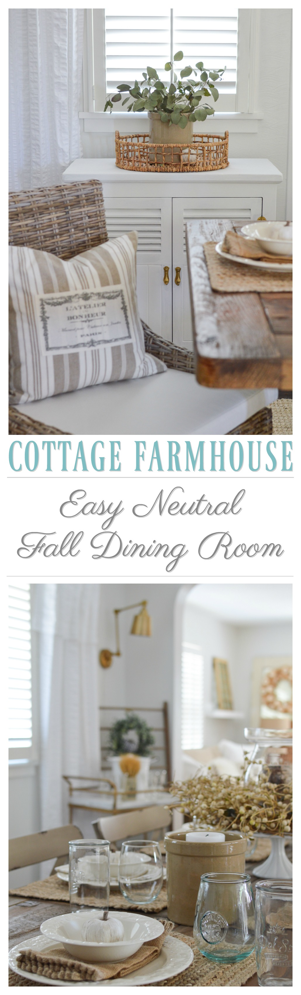 Easy summer to fall dining room refresh fox hollow cottage
