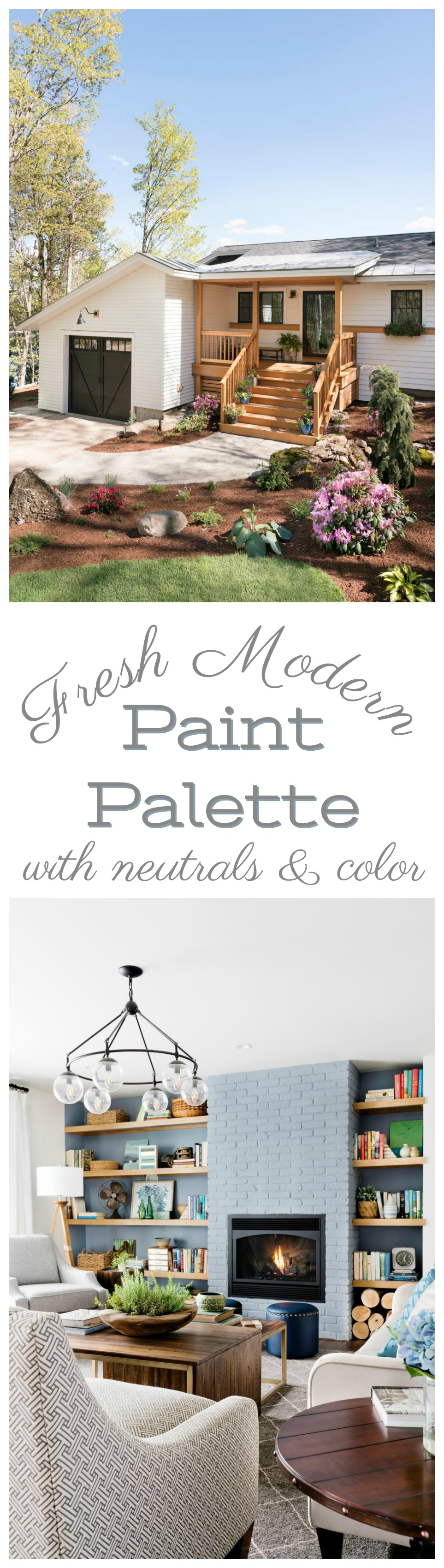 Whole Home Neutral Paint Palette With Color!