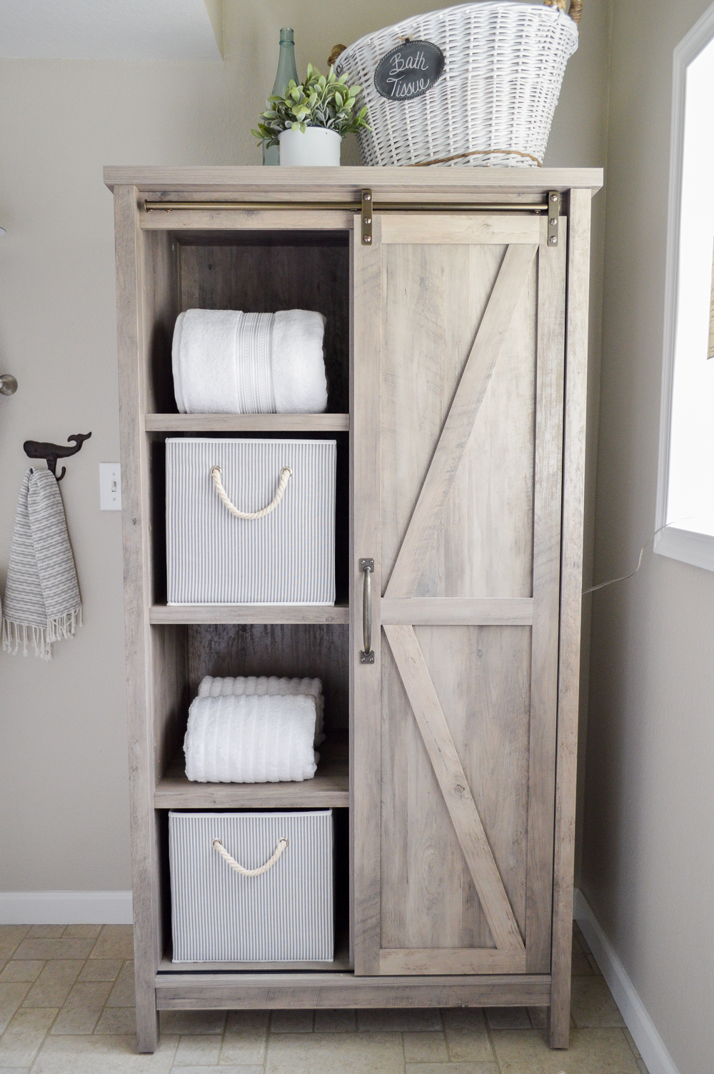 Hidden Storage With Style Cottage Farmhouse Entryway