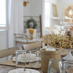 Easy Summer to Fall Dining Room Refresh