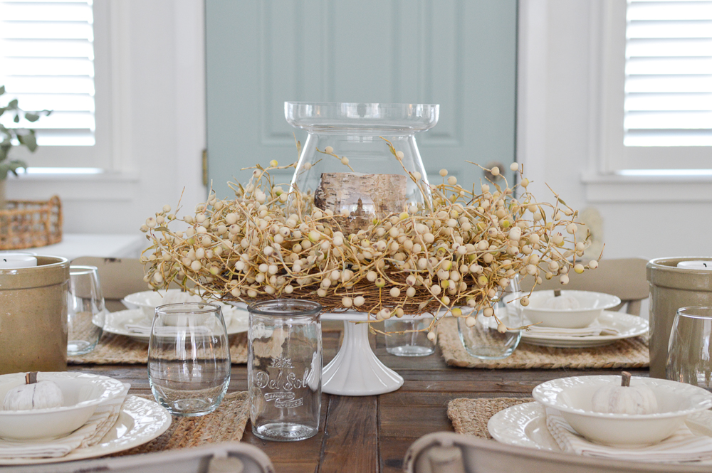 Simple Summer to Fall Dining Room Decorating Ideas that are Easy!