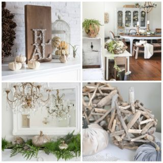 Neutral Fall Home Decor Decorating Ideas