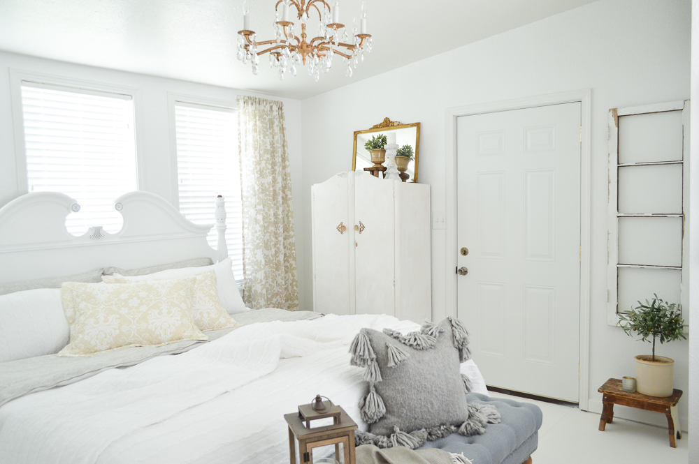 Complete Guest Bedroom Makeover Budget, Sources + Tips
