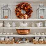 Vintage Cottage Fall Sun Room Decorating
