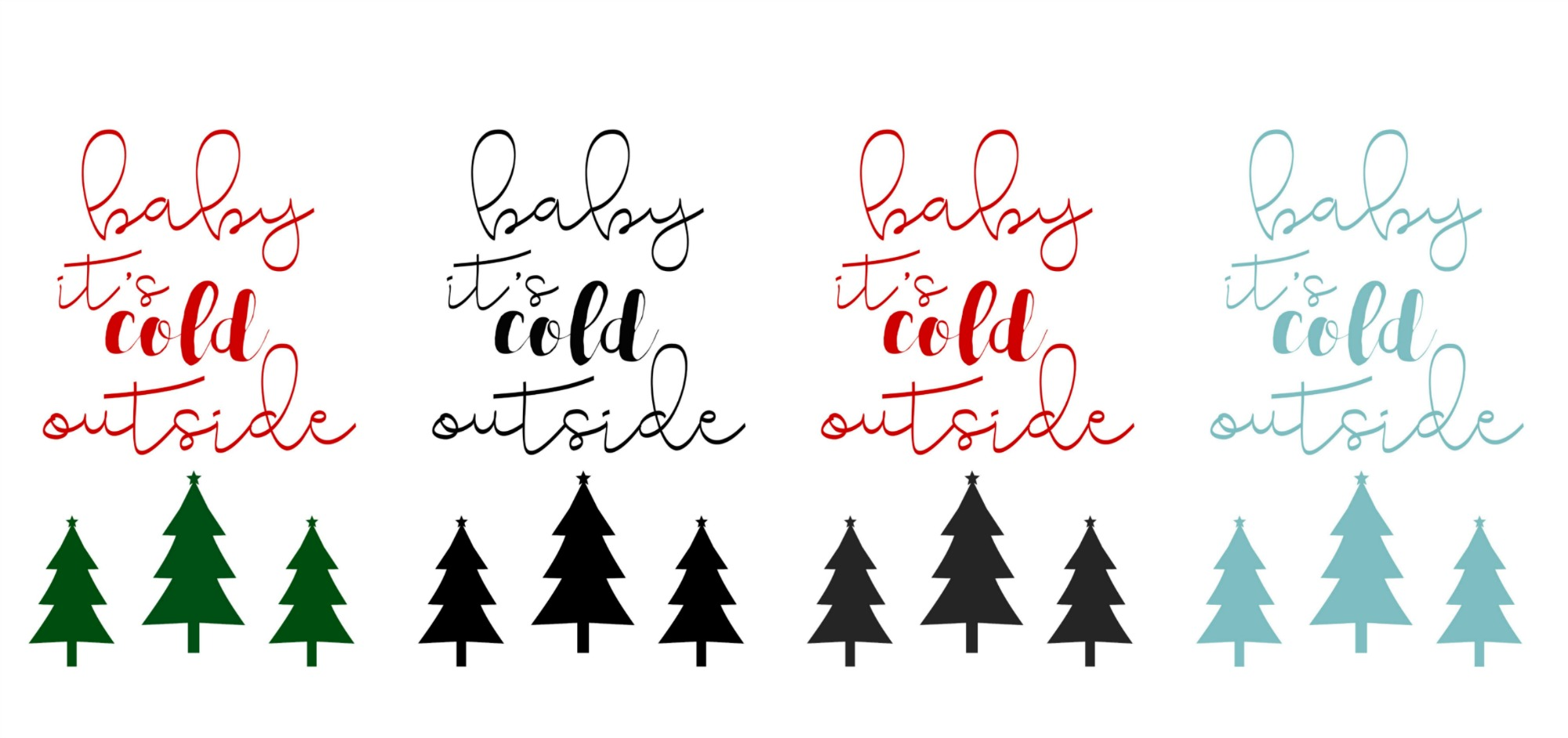 photo relating to Baby Printables known as 4 Free of charge Boy or girl Its Chilly Outdoors Xmas Printables - Fox