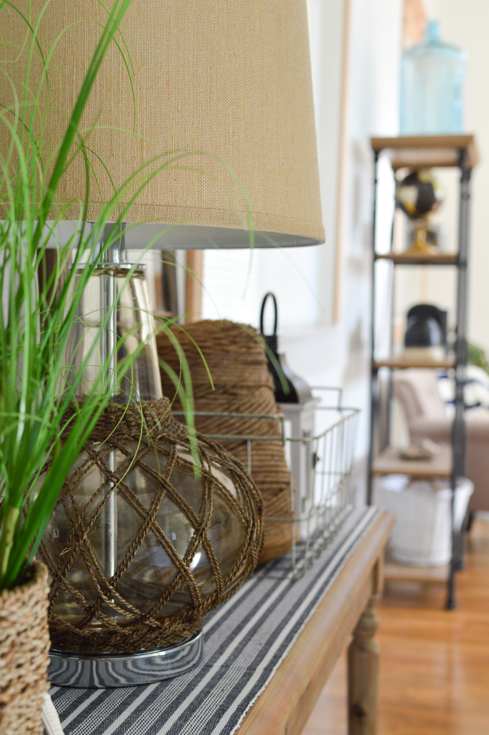 Top DIY and Home Decor Projects of 2017 Coastal Guest Cottage Entryway