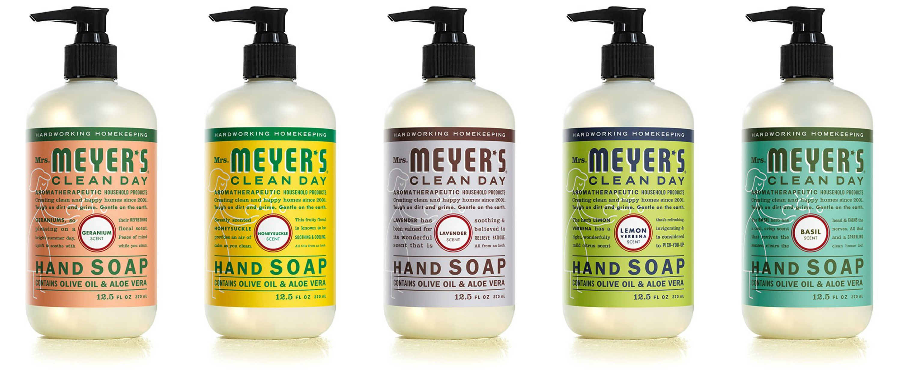 FREE Mrs Meyers Organizing Cleaning Caddy Set - DETAILS at www.foxhollowcottage.com