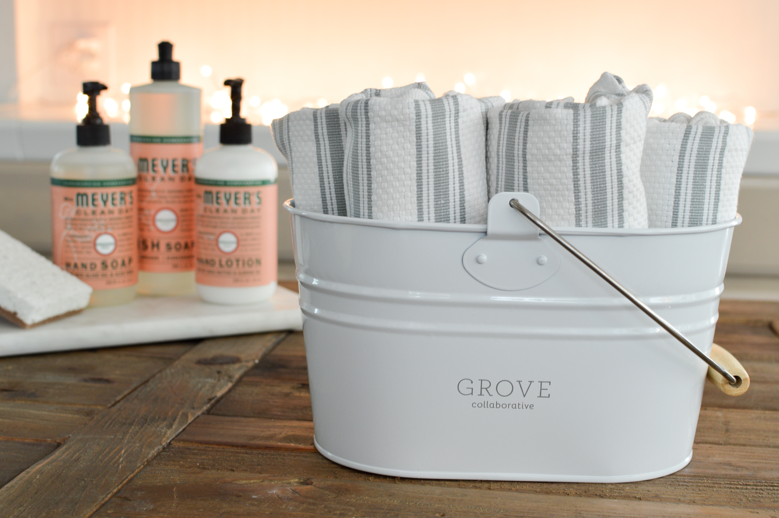 FREE Mrs Meyers Organizing Cleaning Caddy Set - DETAILS at www.foxhollowcottage.com #ad