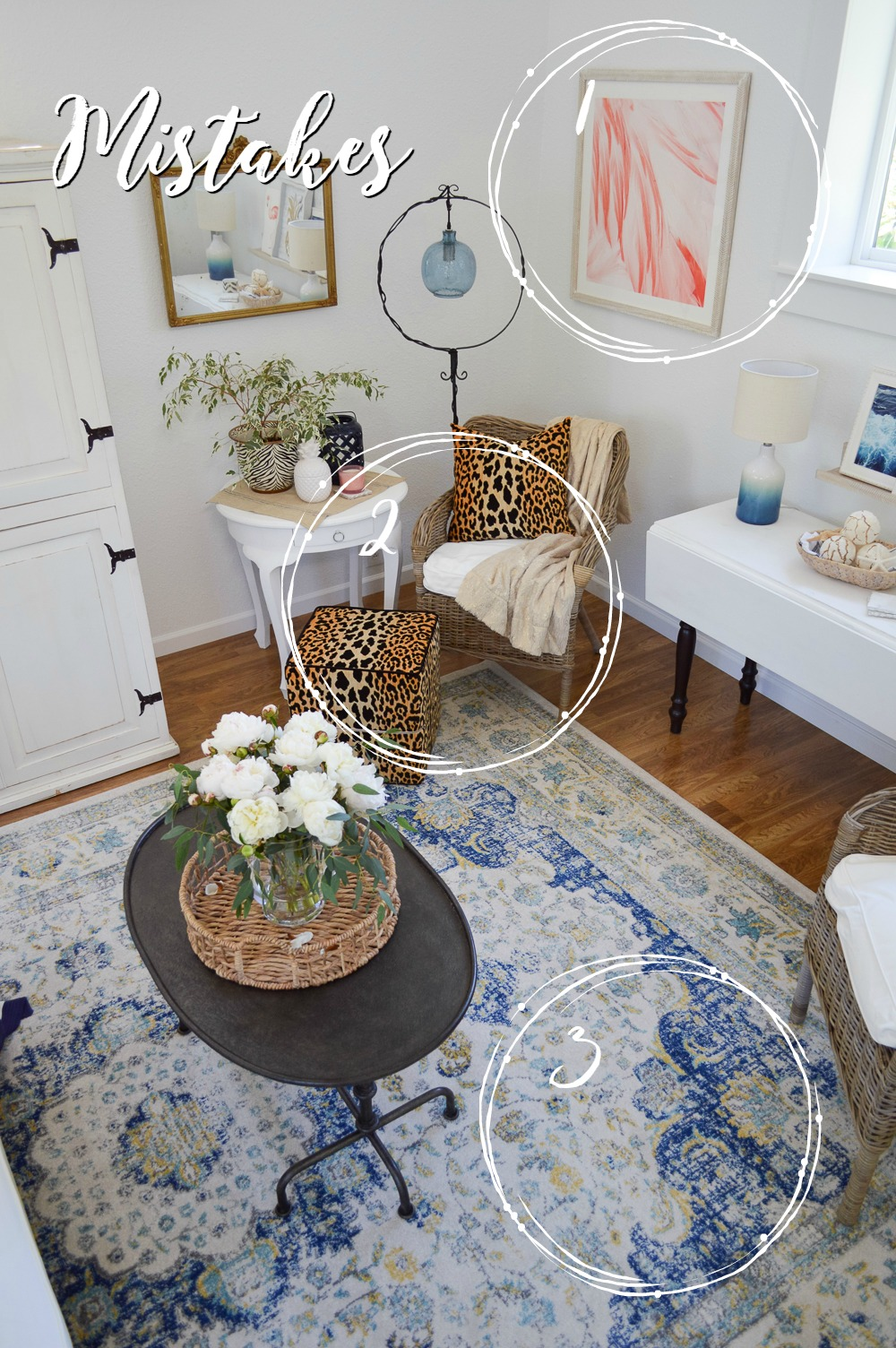 BEFORE New Home Decorating Tips and Ideas - Mistakes, and how to get that relaxed cottage farmhouse style. Great room/living room, take two. #sponsored with Better Homes & Gardens