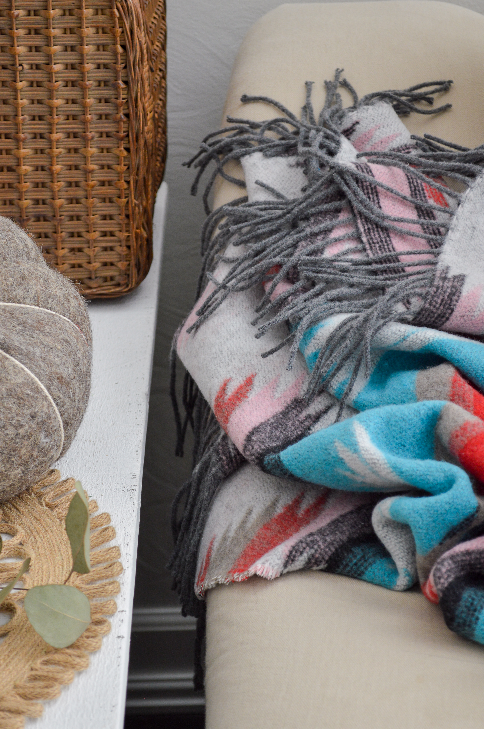 Give Back with Sackcloth & Ashes Blankets Now at Cost Plus World Market