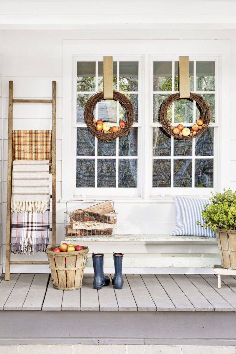 Fall Porch Decorating Ideas To Get You Exited About Autumn - Christopher Shane Country Living