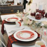 Cottage Farmhouse Christmas Dining Room