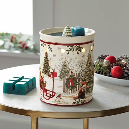 Better Homes & Gardens Full Size Wax Warmer, Heritage Sleigh Winter Christmas