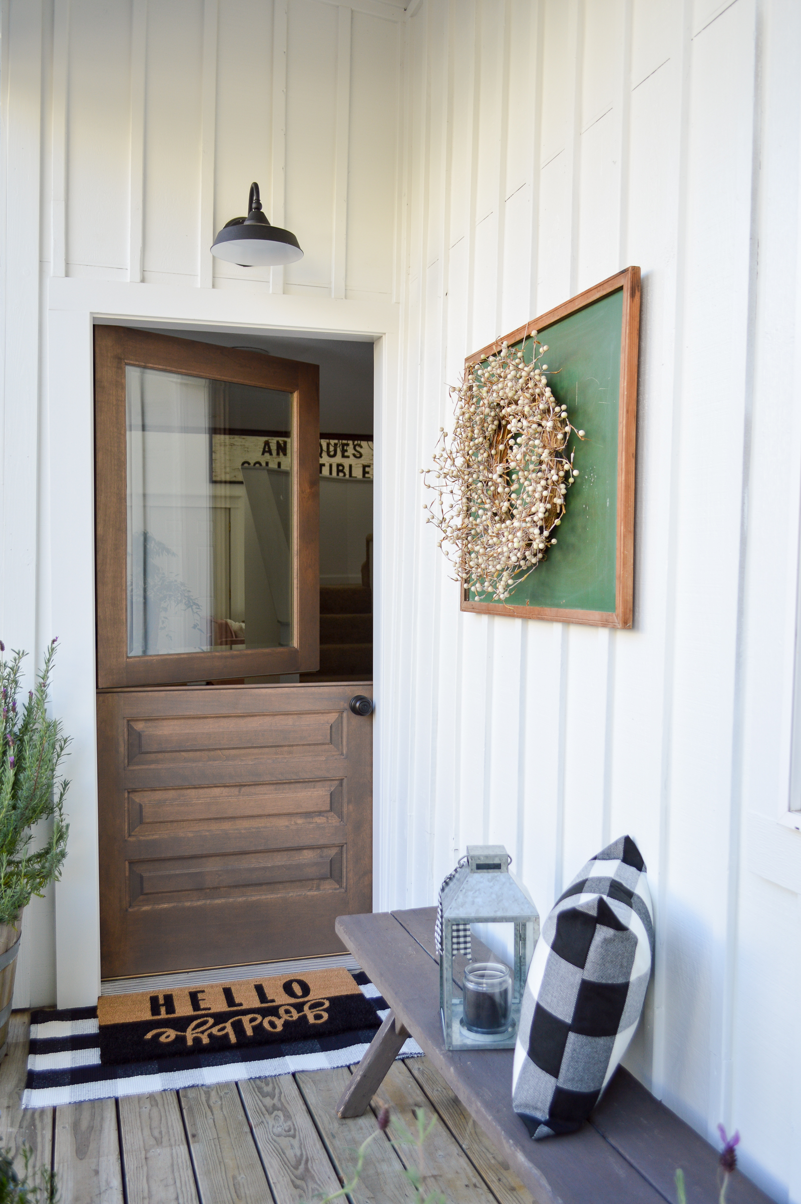 Little Cottage Exterior Paint + Dutch Door Reveal