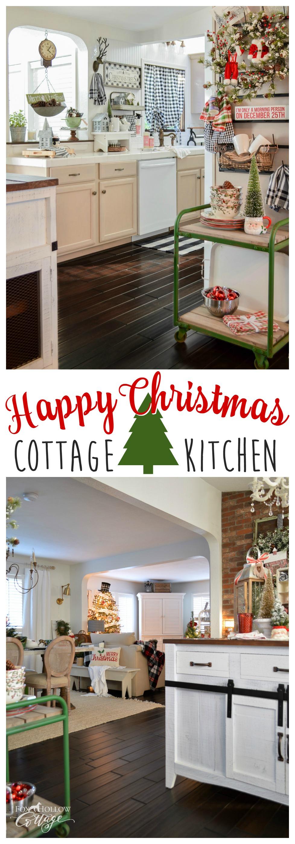 Happy Christmas Kitchen Home Tour