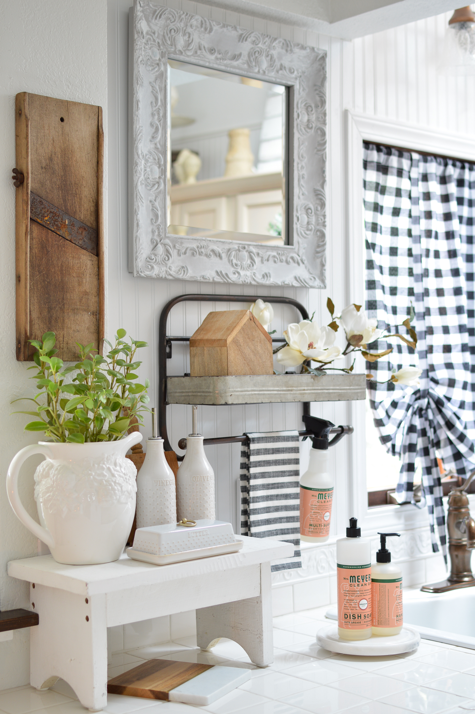 Fresh New Year Winter Home Makeover Fox Hollow Cottage