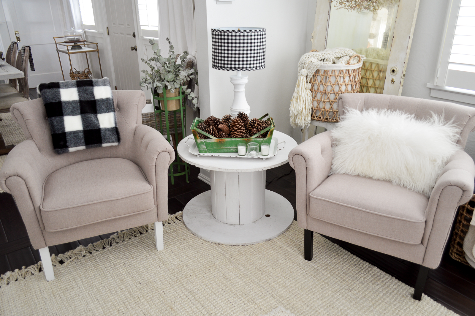 Fresh New Year Winter Home Makeover