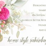 Home Style Saturdays for Spring