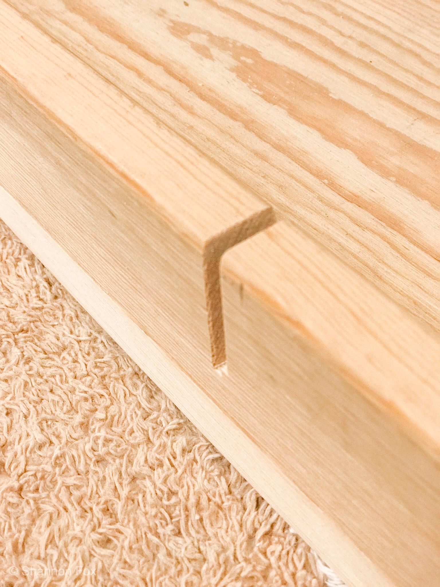 How To Make And Hang A Chunky Wood Wall Shelf