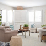 Light Airy Cottage Living Room Refresh