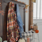 Fresh Fall Entryway with Style and Storage