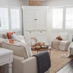 Cozy White Cottage Fall Home Tour