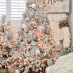My $79 Pre Lit Flocked Christmas Tree