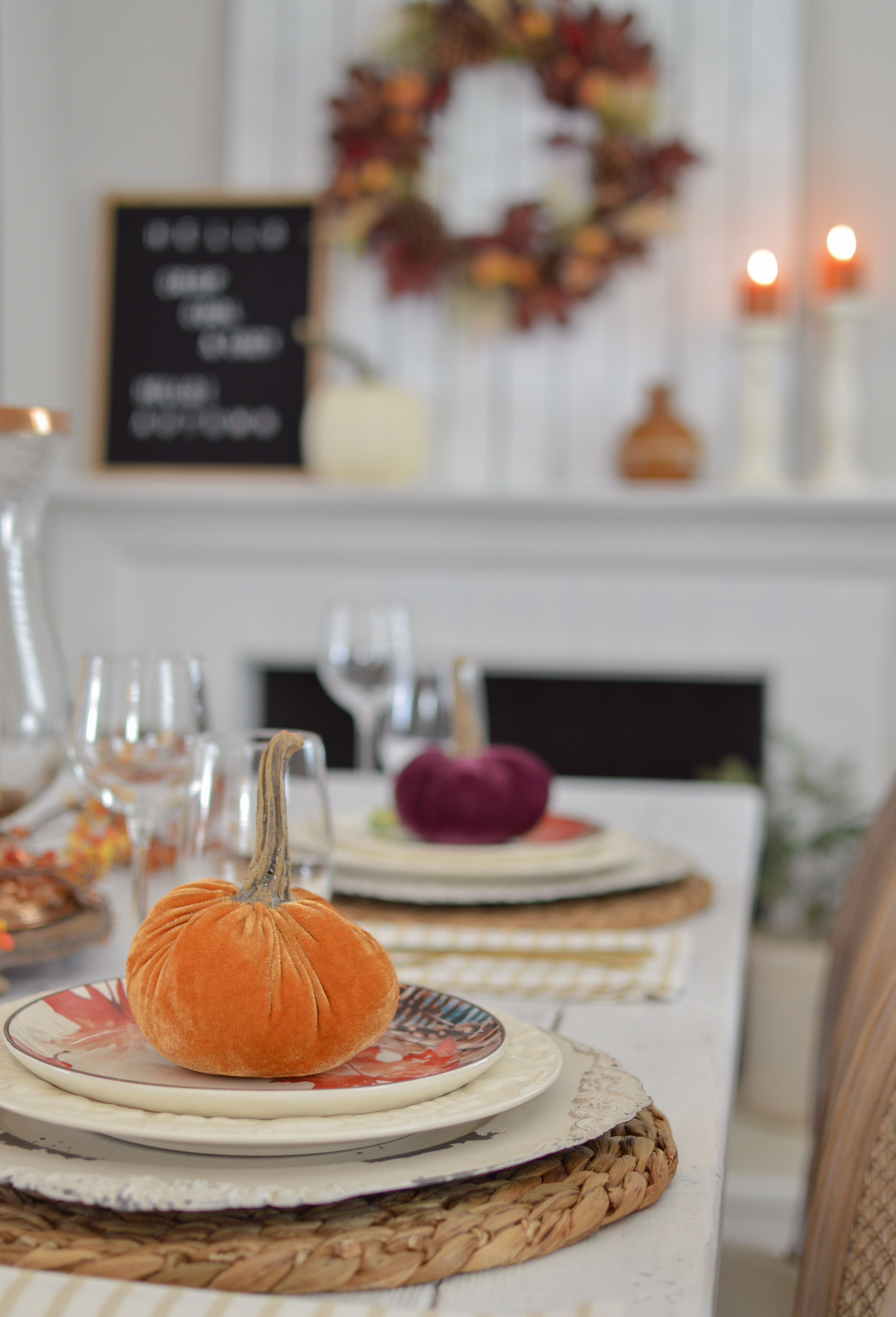 Easy Fall Farm Table Decorating Ideas Fox Hollow Cottage