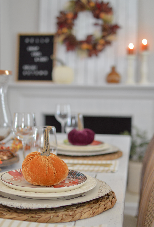 Easy Fall Farm Table Decorating Ideas - Fox Hollow Cottage