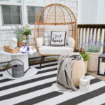 Cozy Spot For One Spring and Summer Deck Refresh